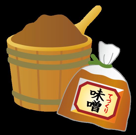 味噌蔵のイラスト